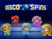 Играть на деньги в автоматы Disco Spins