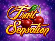 В онлайн казино автоматы Fruit Sensation