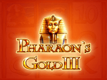 В онлайн казино автоматы Pharaohs Gold III