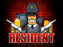 В онлайн казино автоматы Resident