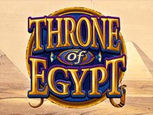 Throne Of Egypt от Microgaming - яркие игровые автоматы для игры онлайн и после загрузки