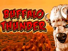 Игровой аппарат 777 Buffalo Thunder на сайте казино