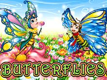 Играйте в виртуальный гаминатор Butterflies от Microgaming