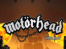 Играть в гаминатор Motörhead Video Slot онлайн