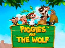 Играть в игровой аппарат Piggies And The Wolf онлайн